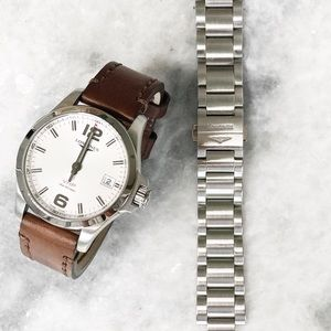 Longines Conquest V.H.P. Stainless Steel Watch